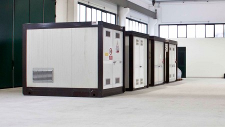 Noleggio cabine elettriche prefabbricate