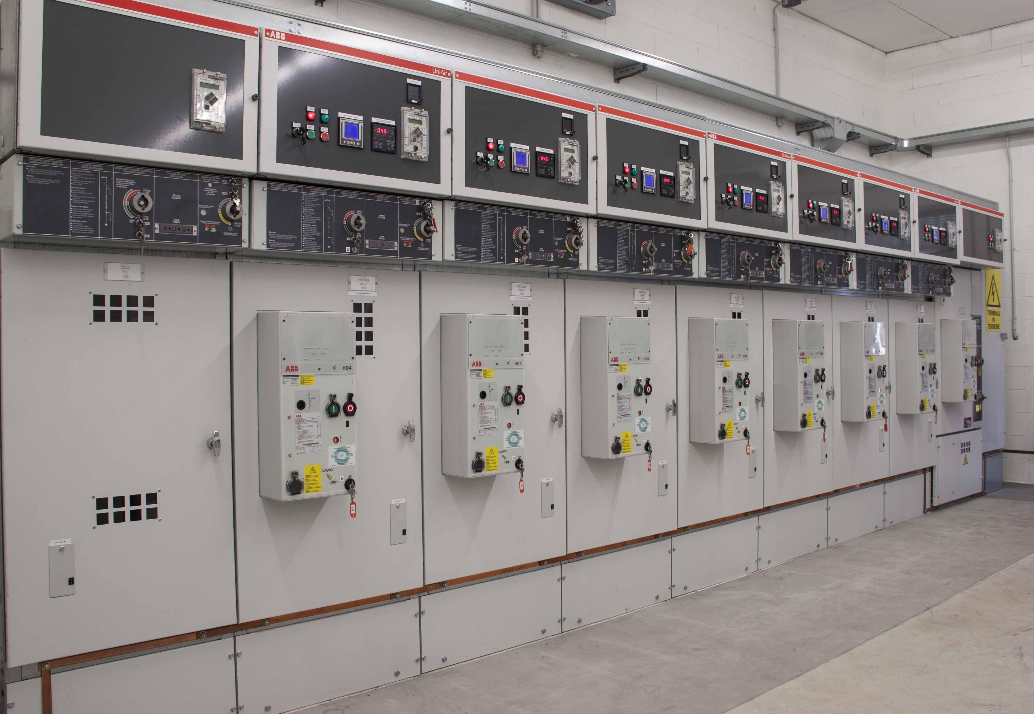 Quadri Elettrici Industriali MT BT | IEI Brescia