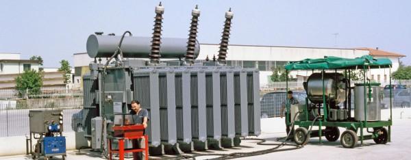 Manutenzione Trasformatori Elettrici