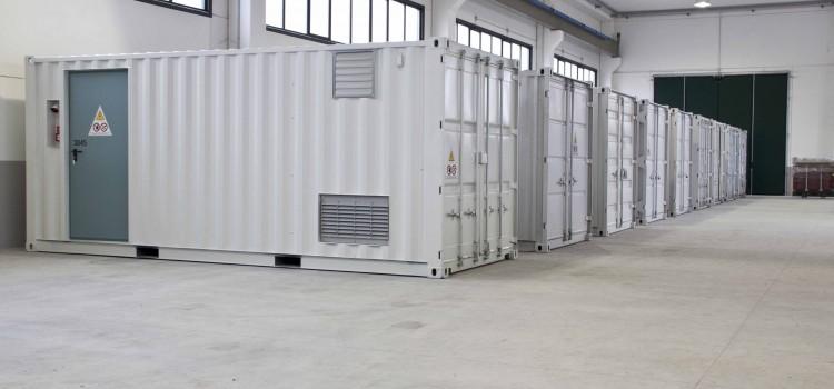 Cabine Elettriche Prefabbricate Container